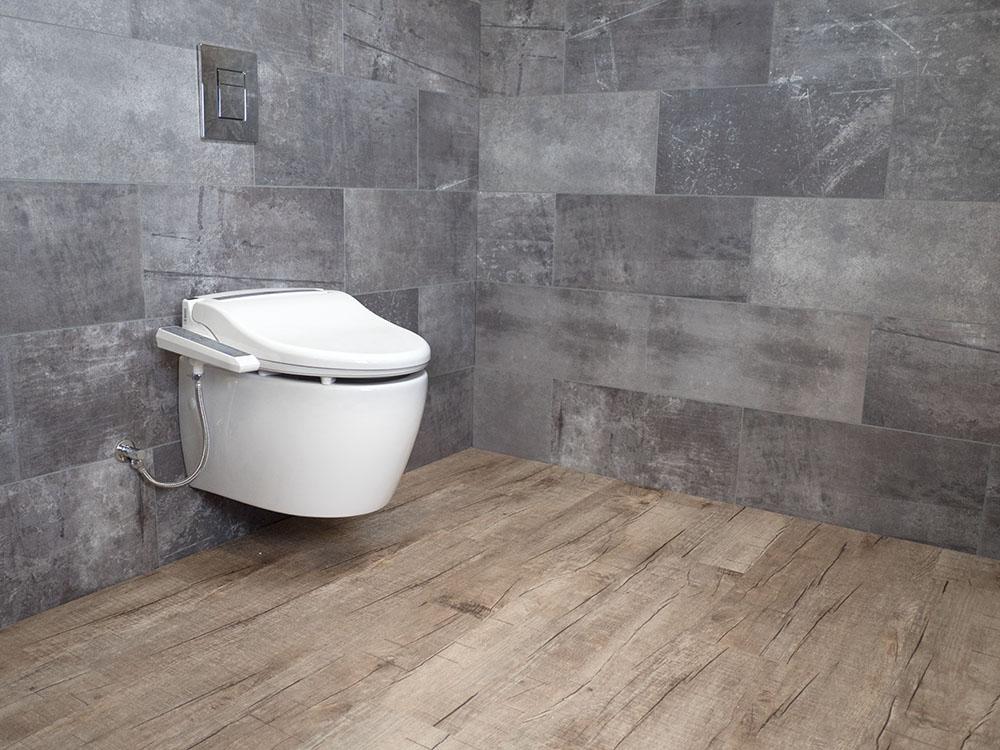 MEWATEC Dushlet B100 Dusch-WC Aufsatz Ambiente