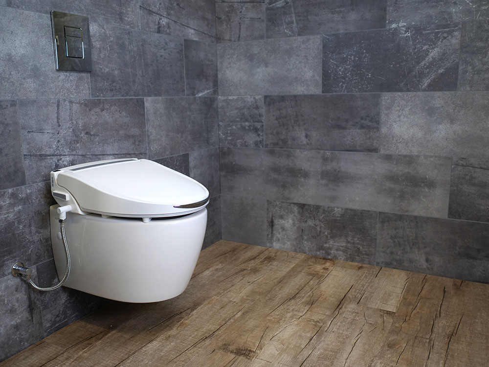 MEWATEC Dushlet C700 Dusch-WC Aufsatz Ambiente