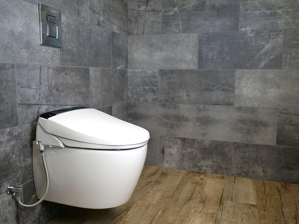 MEWATEC Dushlet E900 Dusch-WC Aufsatz Ambiente