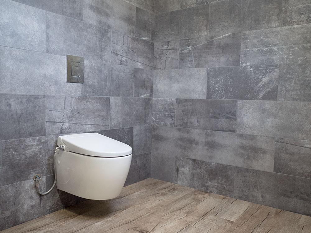 MEWATEC Dushlet N500 Dusch-WC Aufsatz Slider