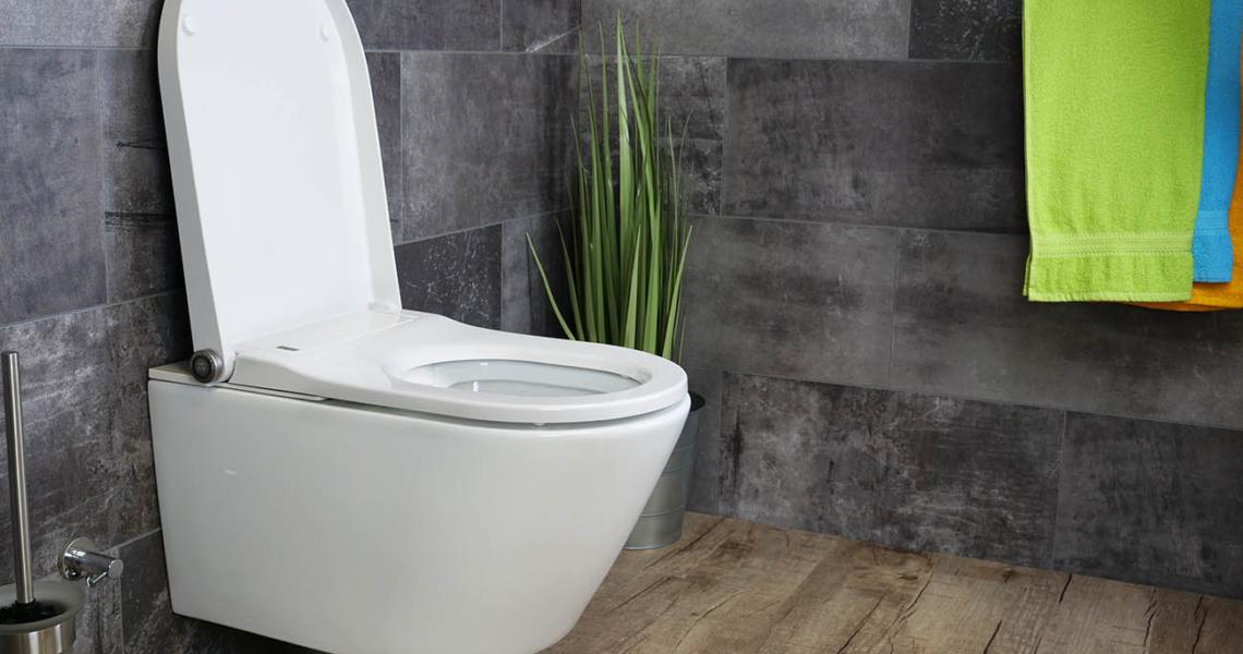 MEWATEC Dushlet Memphis Dusch-WC Komplettanlage Badezimmer Ambiente