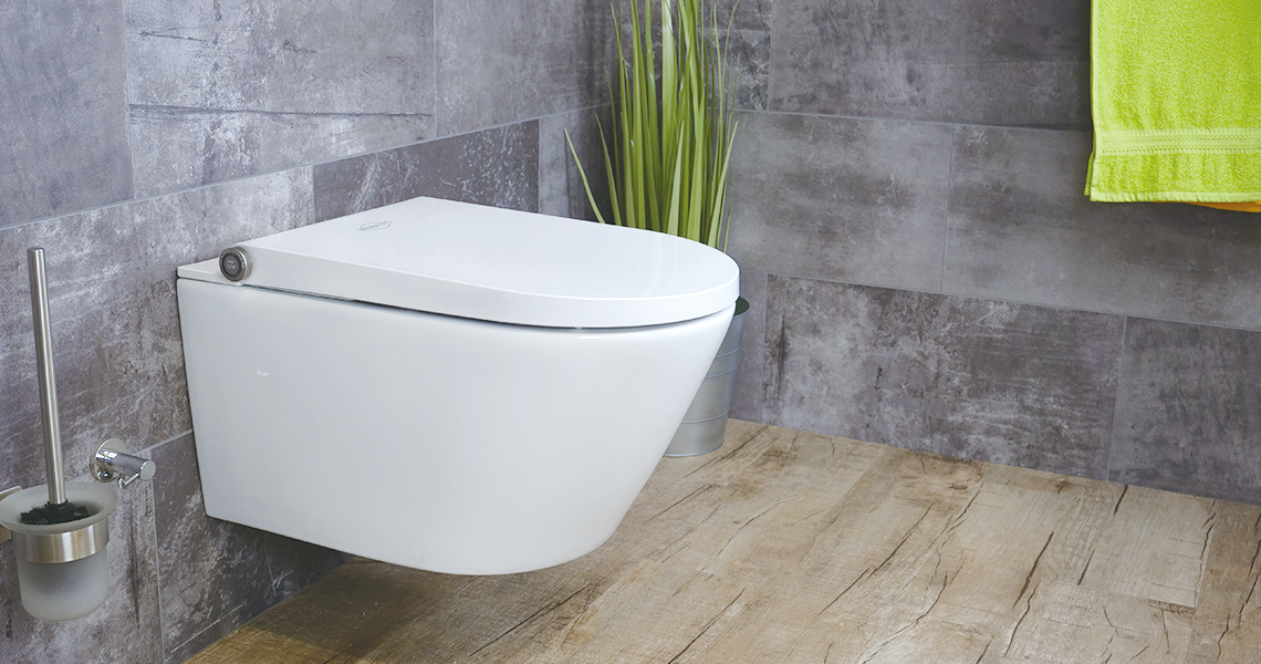 MEWATEC Dushlet Memphis Premium Dusch-WC Komplettanlage
