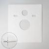 MEWATEC Dusch-WC Komplettanlage Memphis Schallschutzmatte