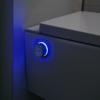MEWATEC Dusch-WC Komplettanlage EasyUp iBidet Rotary Knopf beleuchtet