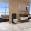 MEWATEC MagicWall touch Spuelkasten Spuelwand Ambiente Dushlet EasyUp Dusch-WC Komplettanlage
