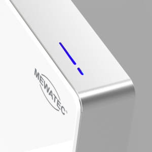 MEWATEC MagicWall touch Spuelkasten Spuelwand weiss Touch Sensor