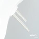 MEWATEC Dushlet Nevada Dusch-WC Aufsatz nichtelektronisch Duscharm twin nozzle