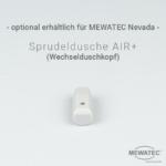 MEWATEC Dushlet Nevada Dusch-WC Aufsatz nichtelektronisch optionaler Duschkopf Sprudeldusche AIR+