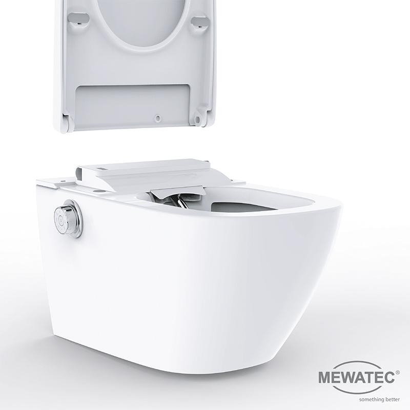 MEWATEC Dushlet EasyUp Dusch-WC Komplettanlage -Funktion