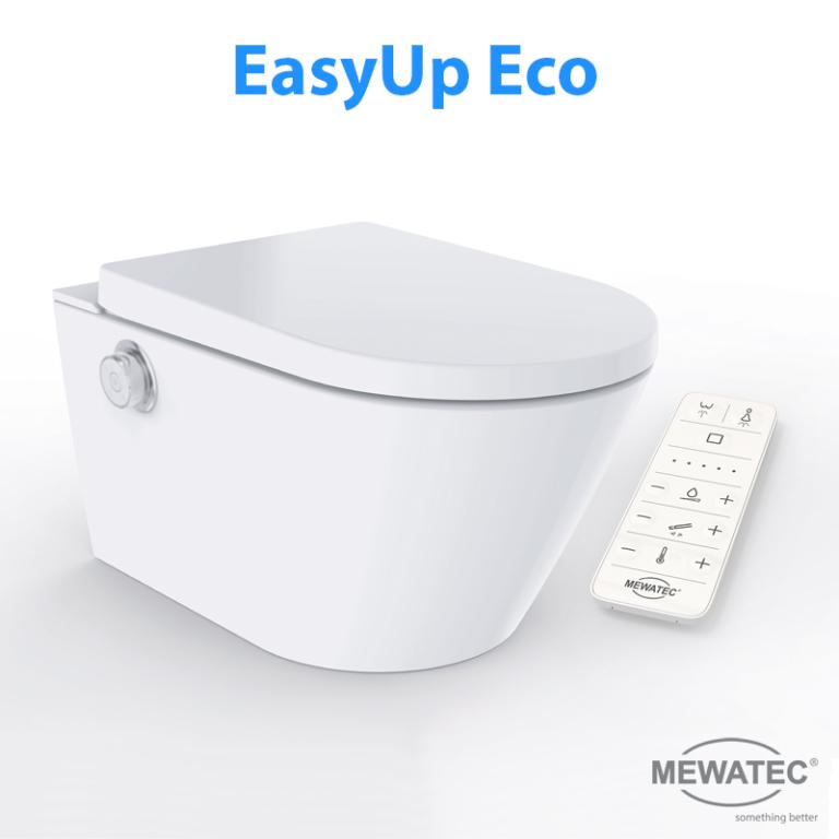 MEWATEC Dushlet EasyUp Dusch-WC Komplettanlage Eco