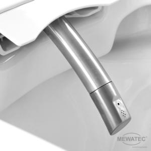 MEWATEC Dushlet EasyUp Dusch-WC Komplettanlage Edelstahlduscharm