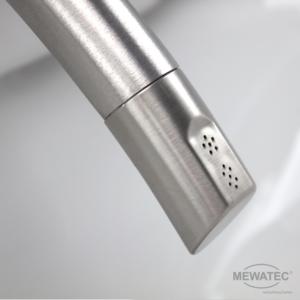 MEWATEC Dushlet EasyUp Dusch-WC Komplettanlage Edelstahlduscharm Duese