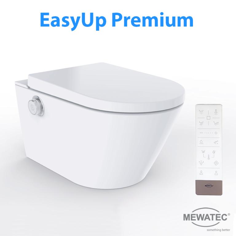 MEWATEC Dushlet EasyUp Dusch-WC Komplettanlage Premium