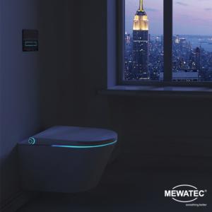 MEWATEC Dushlet Memphis Dusch-WC Komplettanlage Nacht Ambiente