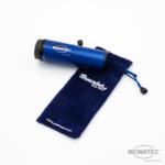 MEWATEC Reise Dusch-WC Travelet Geraet Blau mit Tasche