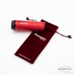 MEWATEC Reise Dusch-WC Travelet Geraet Rot mit Tasche