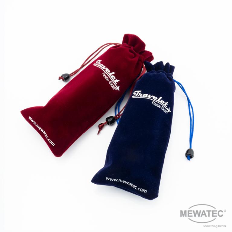 MEWATEC Reise Dusch-WC Travelet Taschen gefuellt