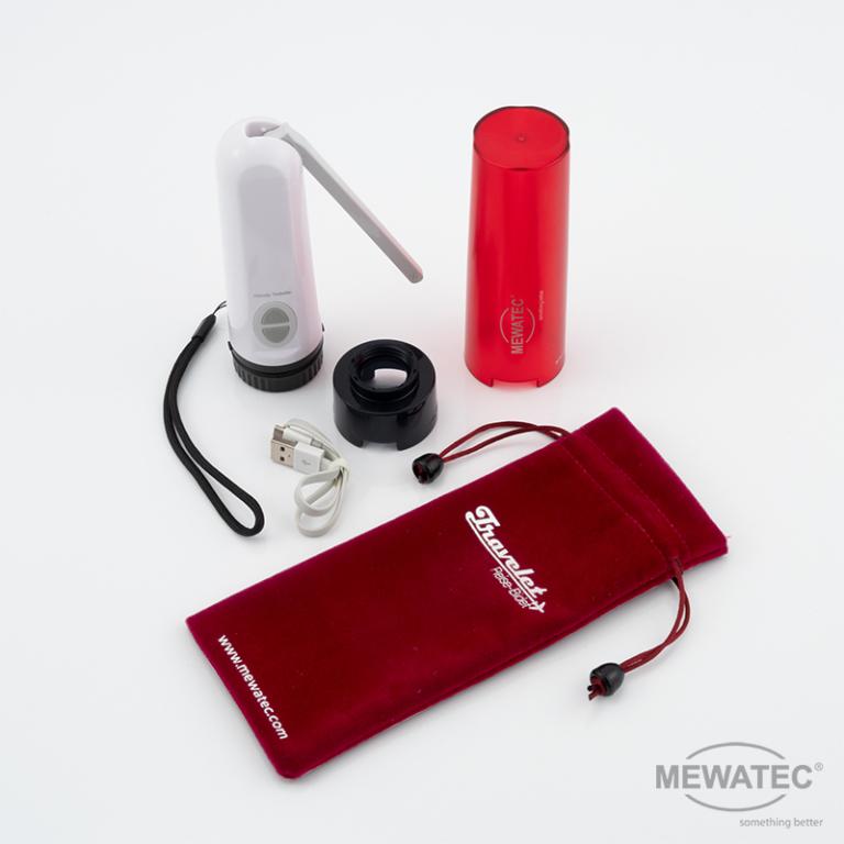MEWATEC Reise Dusch-WC Travelet zubehoer