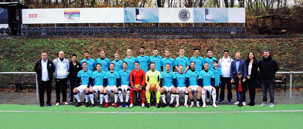 Mannschaftsfoto Grünauer BC