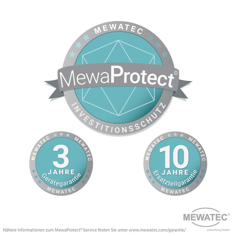 MEWATEC - Das original Dushlet. MewaProtect Investitionsschutz